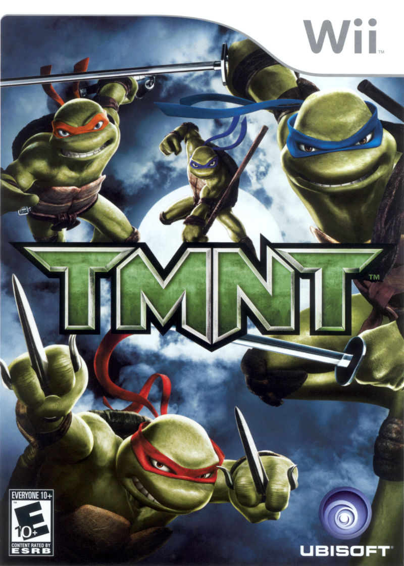 TMNT Wii Front Cover