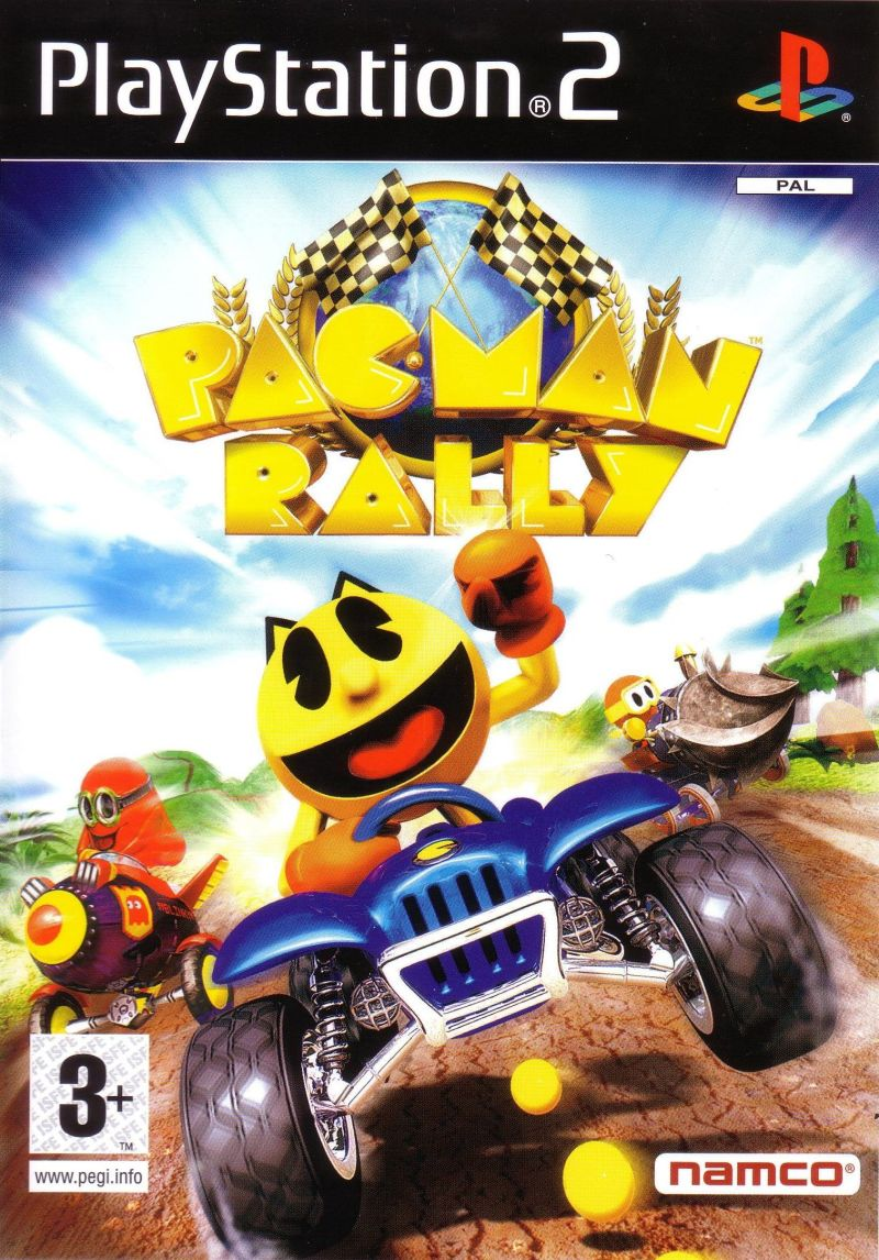 Pac-Man World Rally PlayStation 2 Front Cover