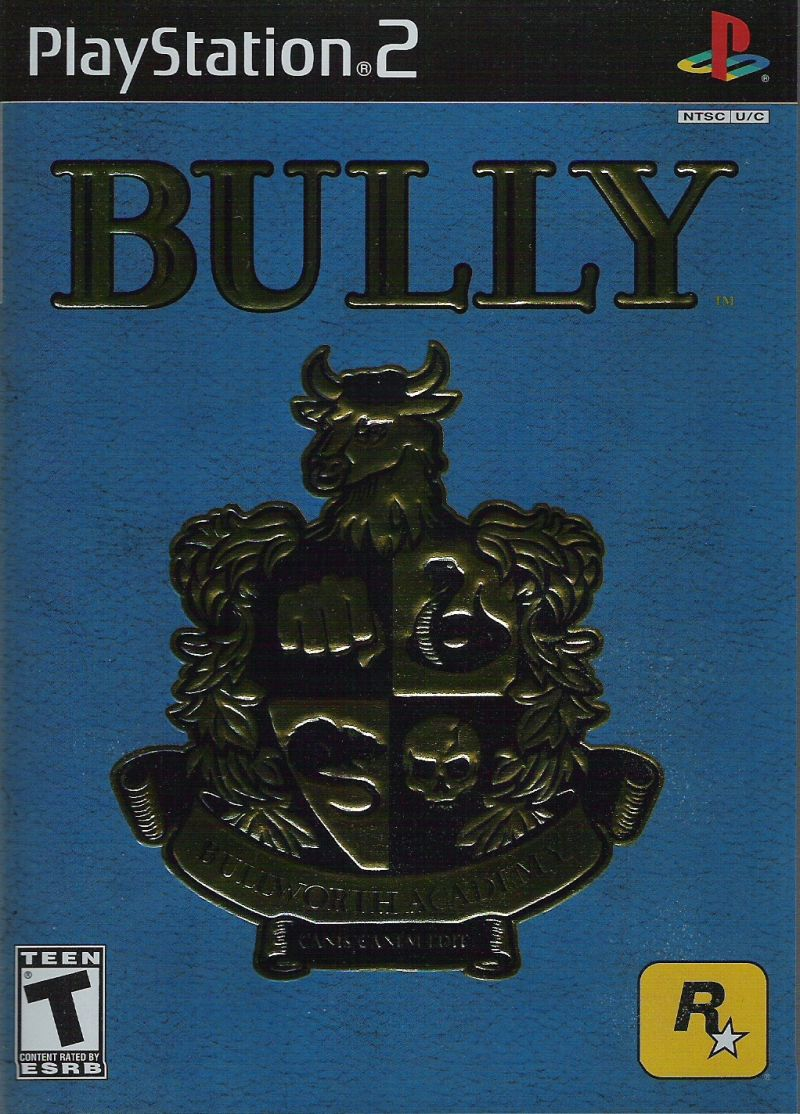 Bully PlayStation 2 Front Cover