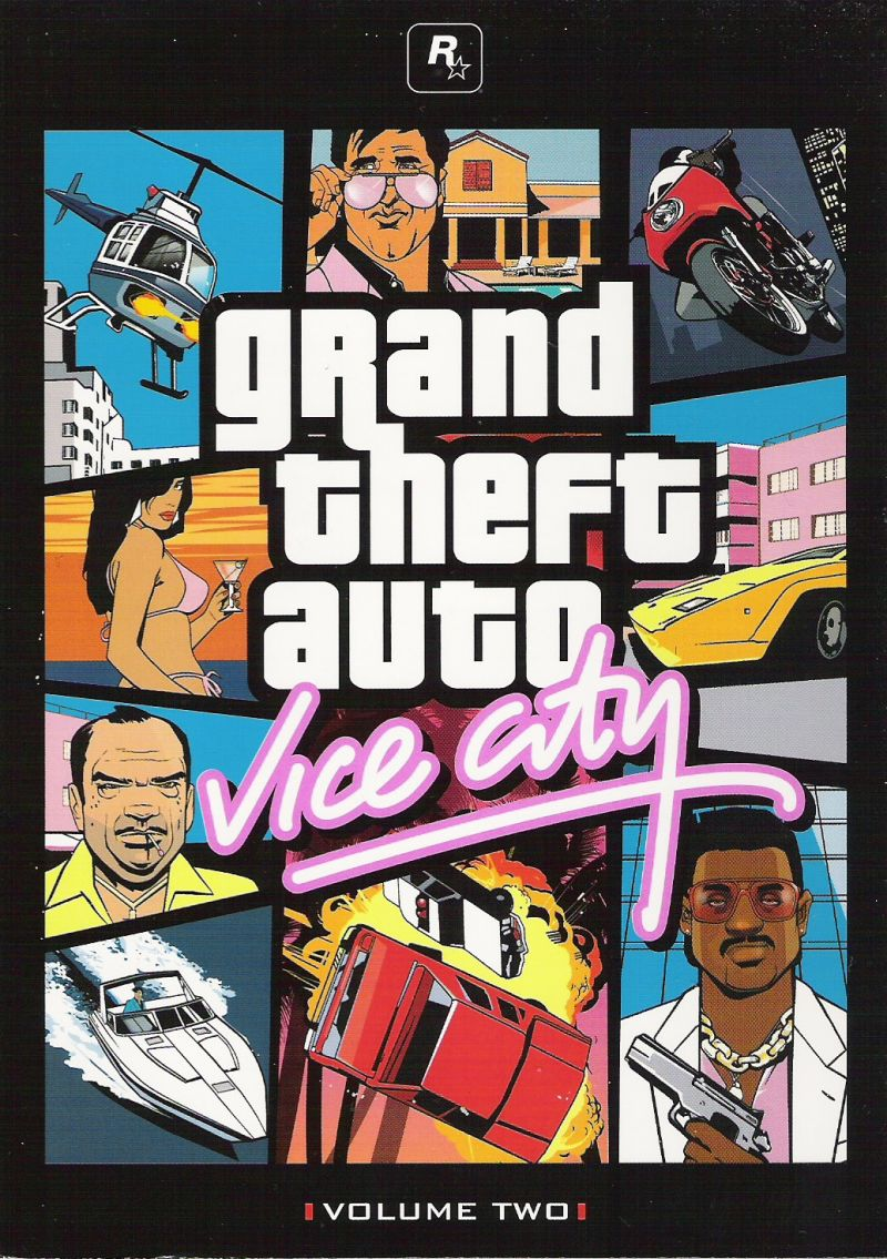 Grand Theft Auto: The Trilogy Xbox Other Grand Theft Auto: Vice City - Inside Cover 1