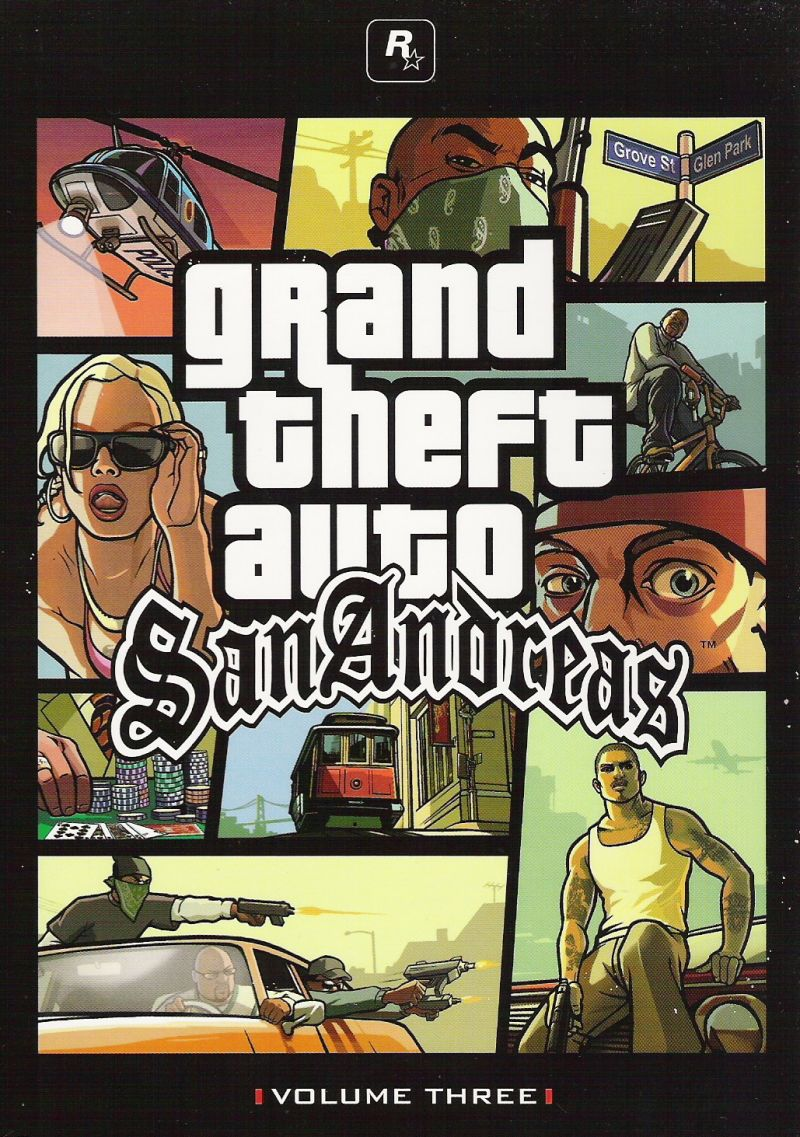 Grand Theft Auto: The Trilogy Xbox Other Grand Theft Auto: San Andreas - Inside Cover 1