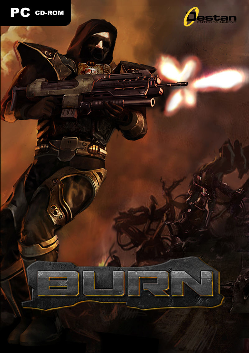 Burn Windows Front Cover