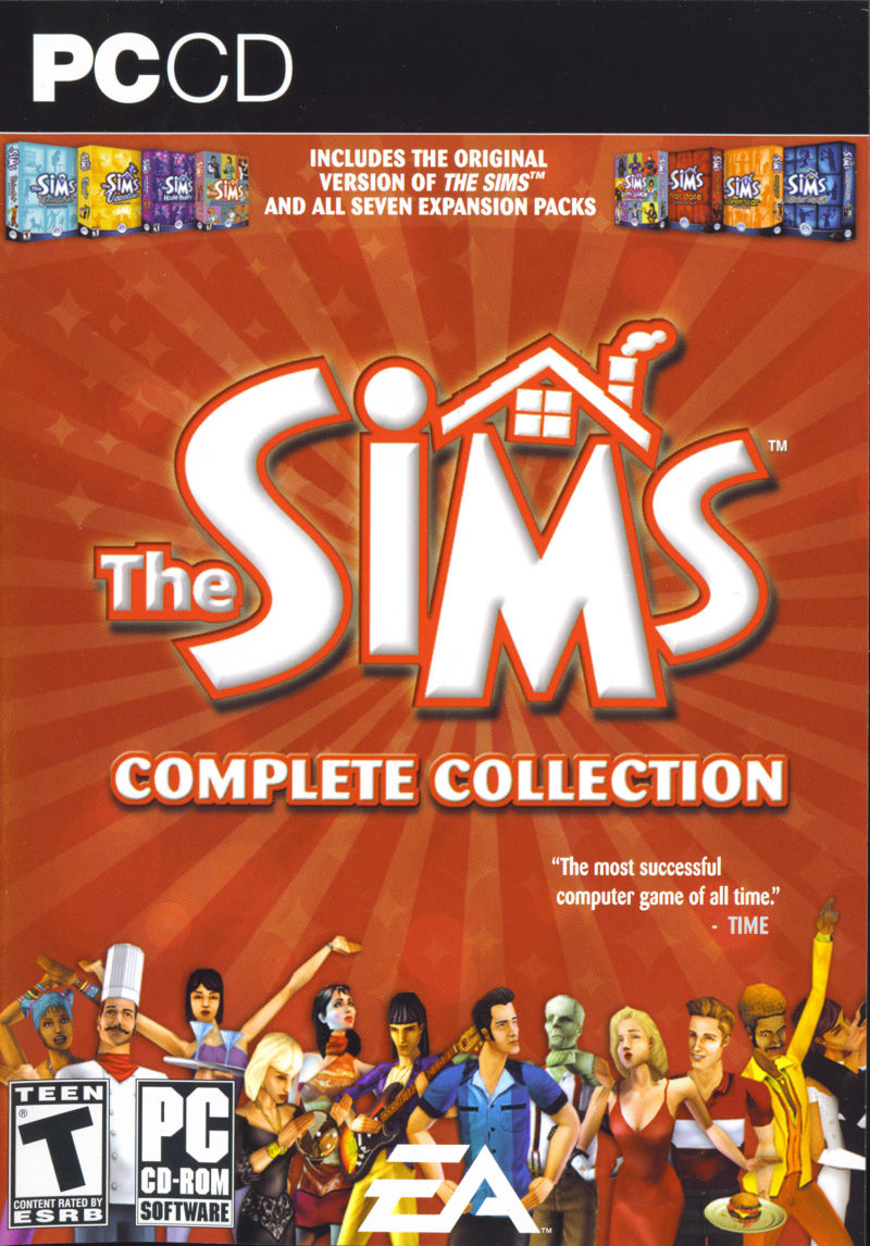 The Sims: Complete Collection Windows Front Cover