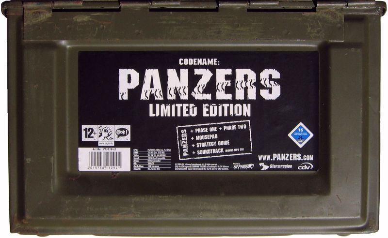 Codename: Panzers (Limited Edition) Windows Front Cover