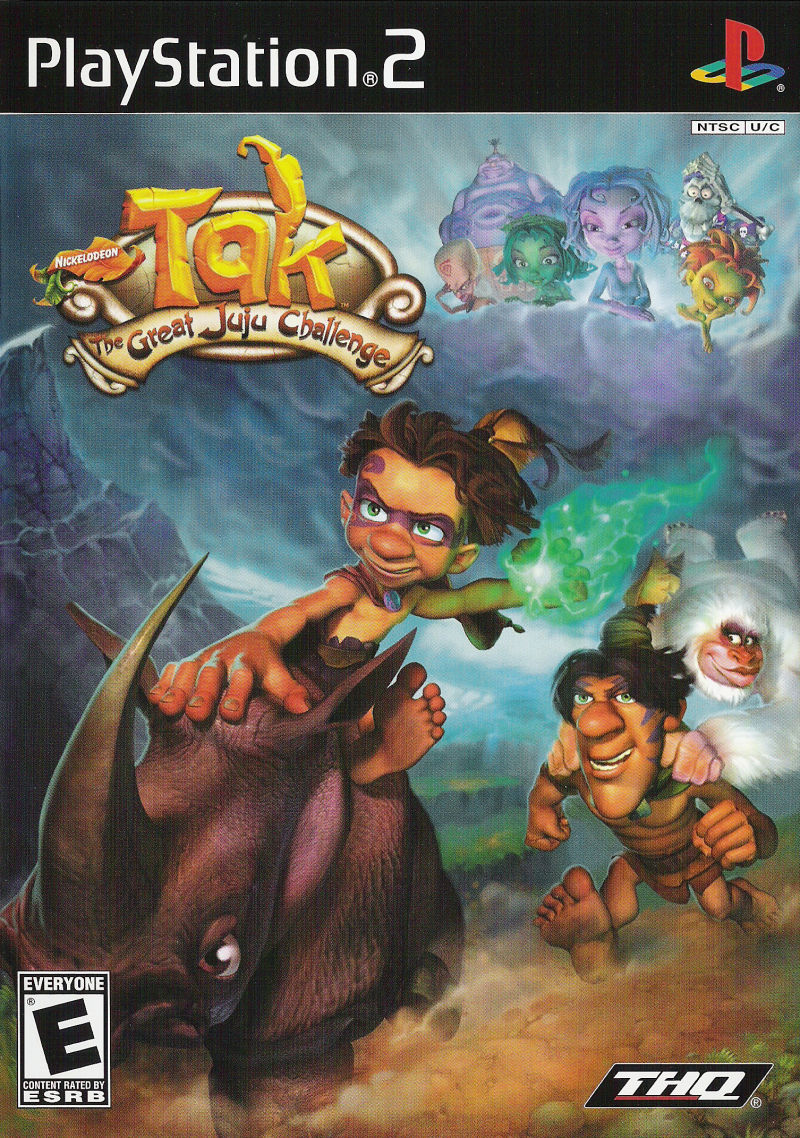 Tak: The Great Juju Challenge PlayStation 2 Front Cover