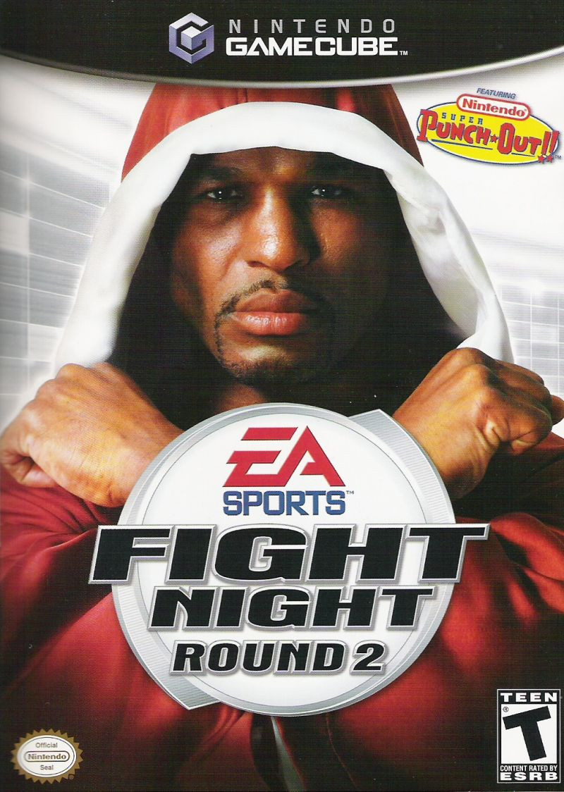 Fight Night Round 2 GameCube Front Cover