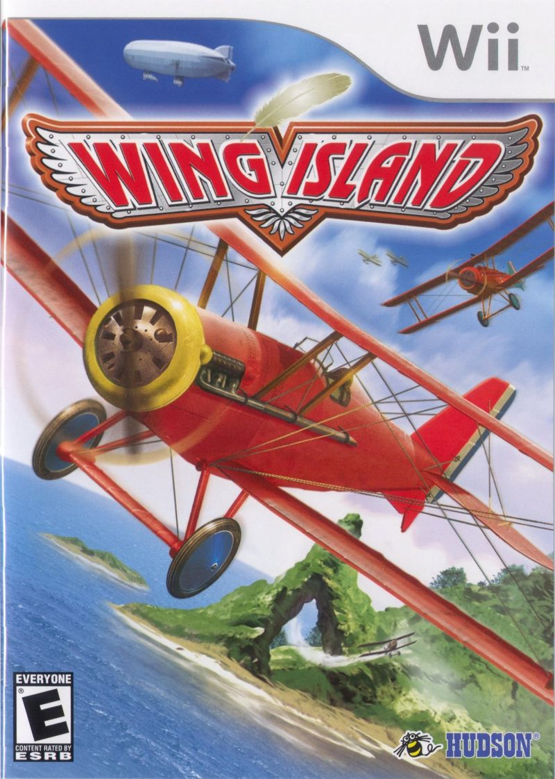 Wing Island Wii Front Cover