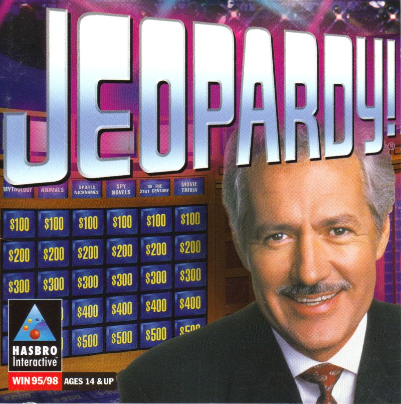 Jeopardy! Windows Front Cover