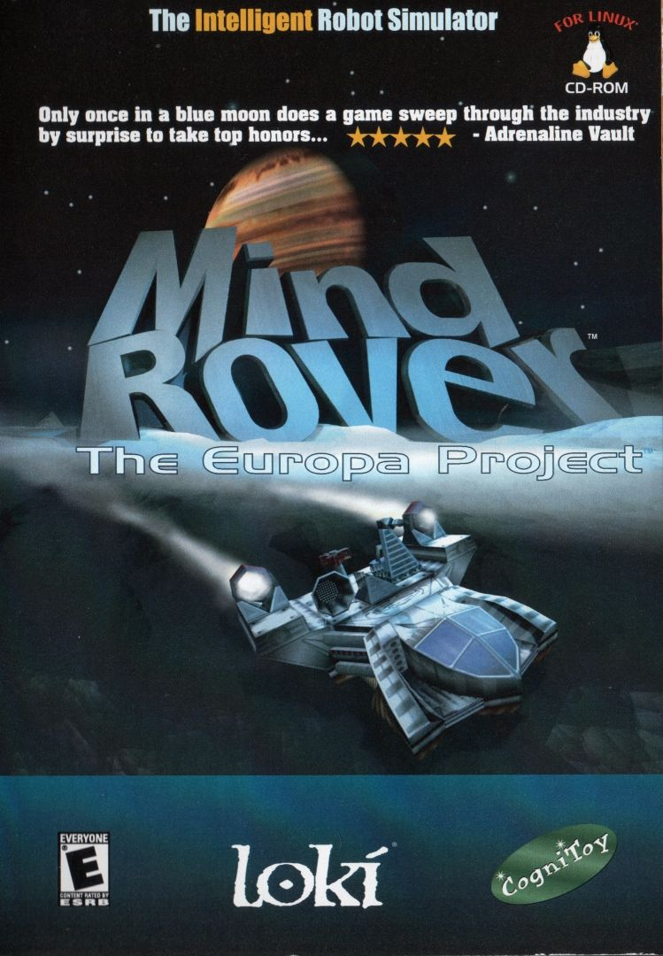 MindRover: The Europa Project Linux Front Cover