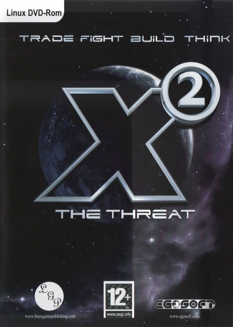 X²: The Threat Linux Front Cover