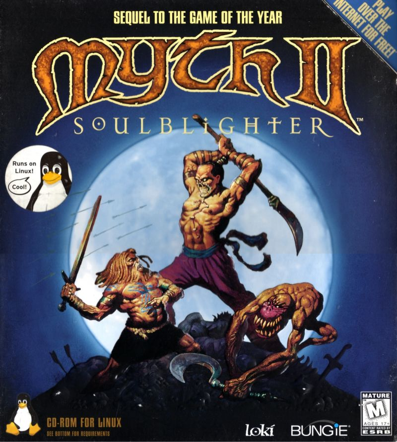 Myth II: Soulblighter Linux Front Cover