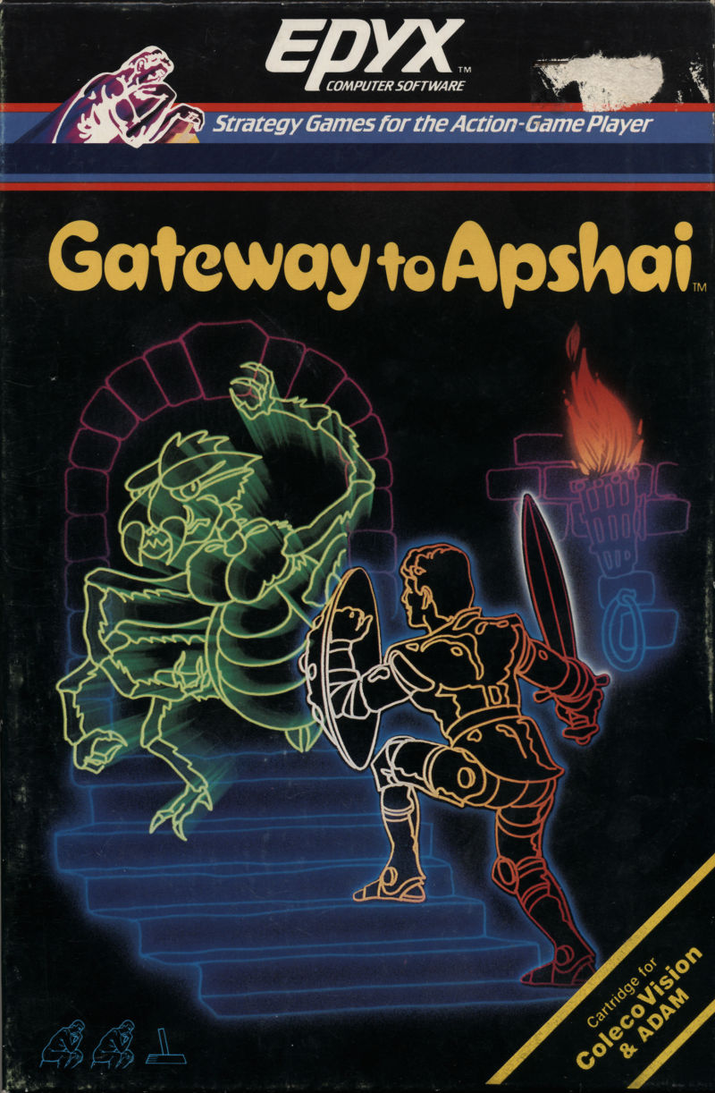 Gateway to Apshai ColecoVision Front Cover