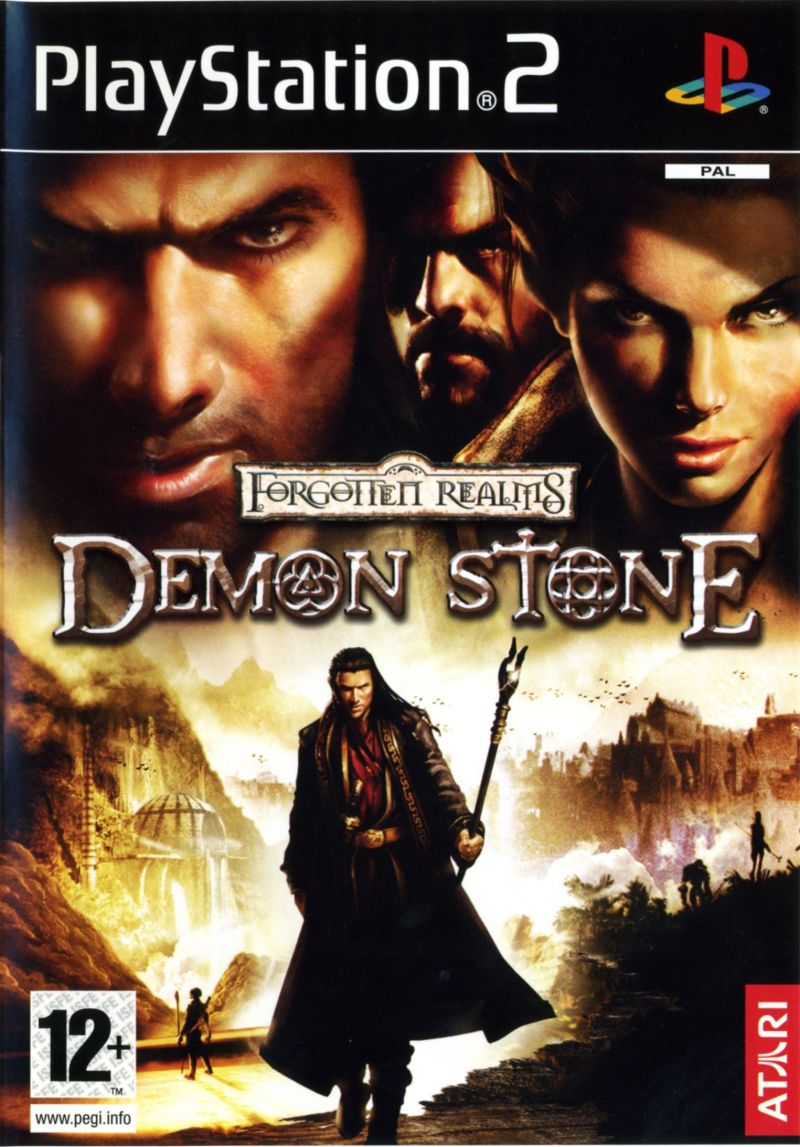 Forgotten Realms: Demon Stone PlayStation 2 Front Cover