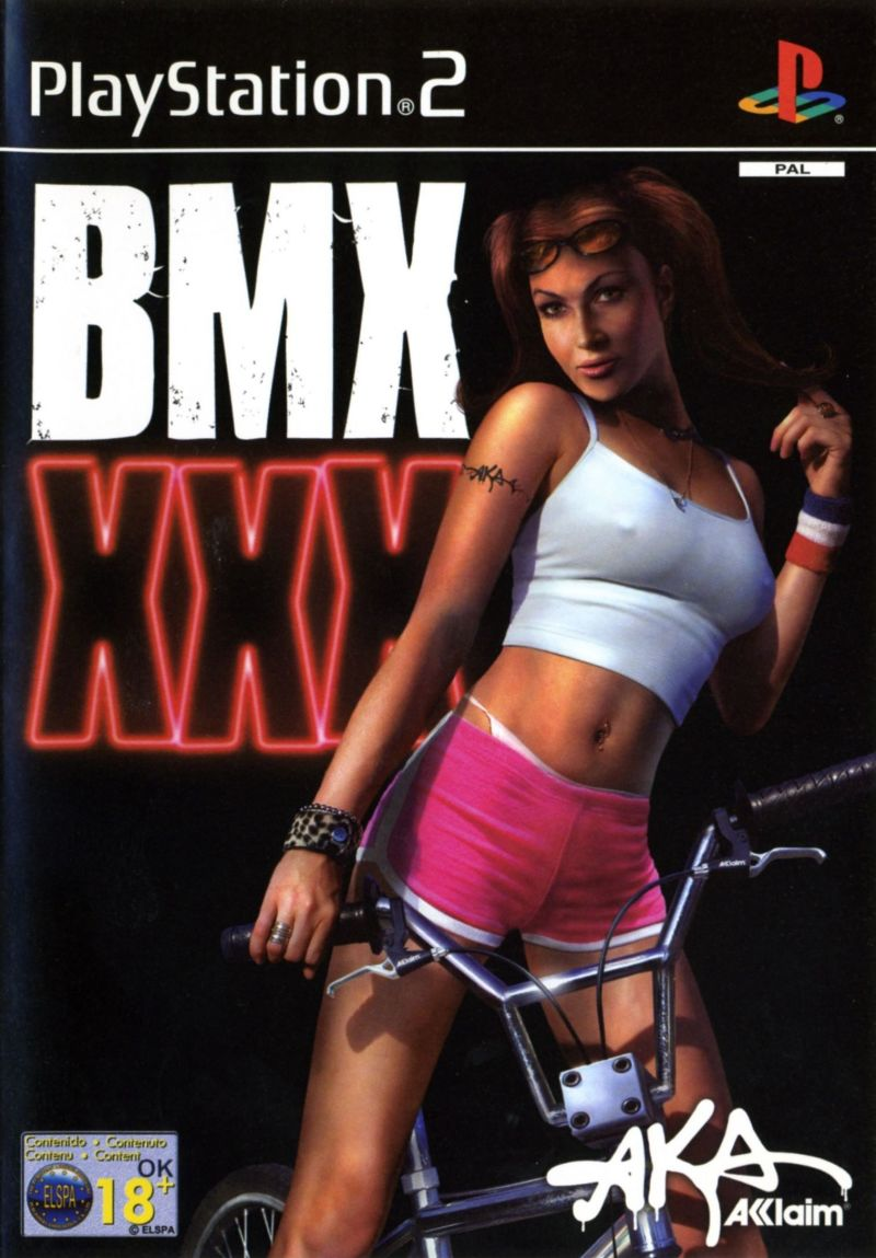 BMX XXX PlayStation 2 Front Cover