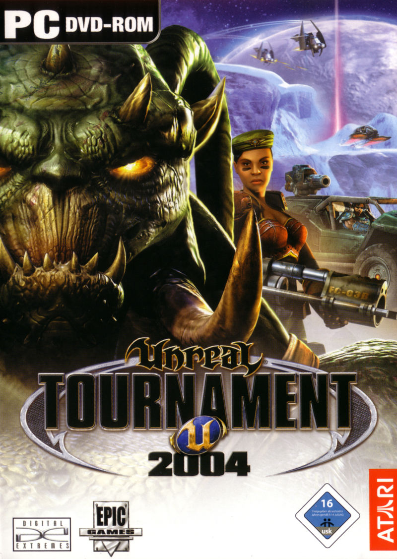 Unreal Tournament 2004 Linux Front Cover