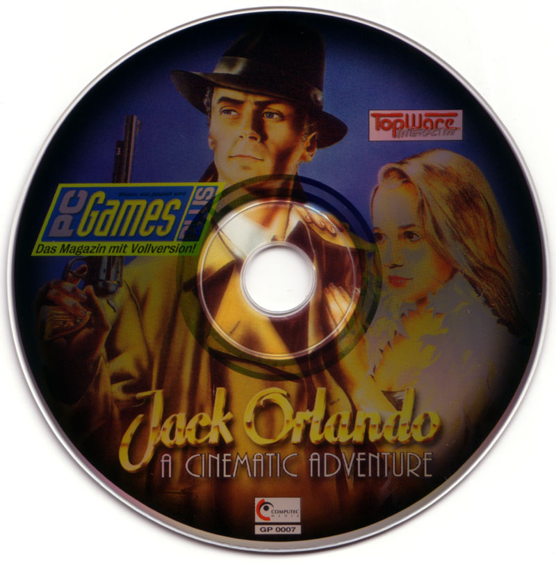 Jack Orlando: A Cinematic Adventure DOS Media