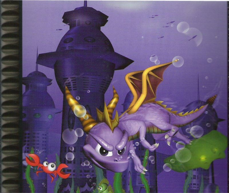 Spyro: Collector's Edition PlayStation Other Spyro 2: Ripto's Rage - Inside