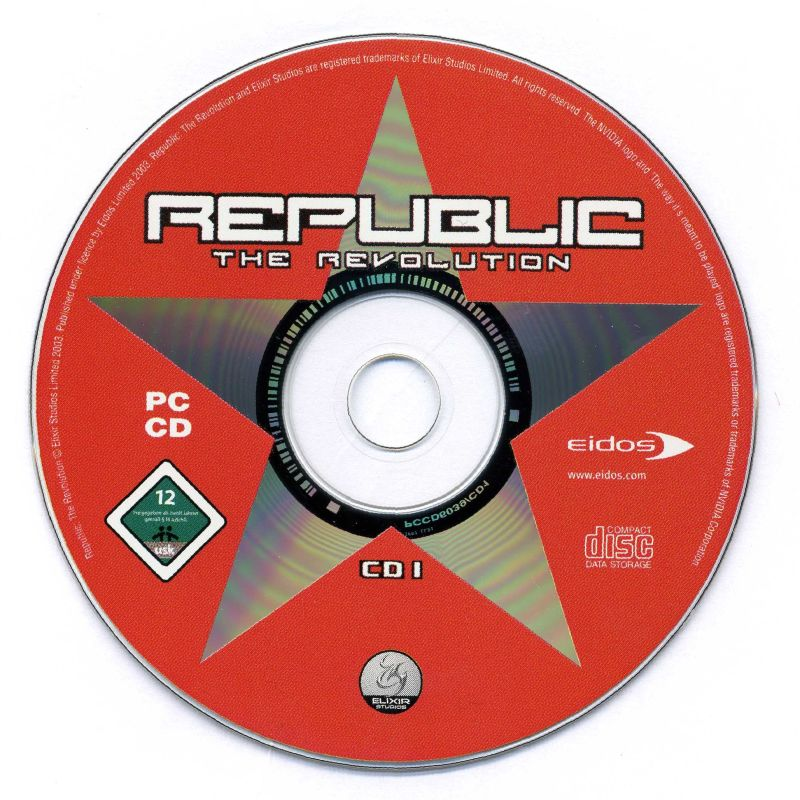 Republic: The Revolution Windows Media Disc 1/2
