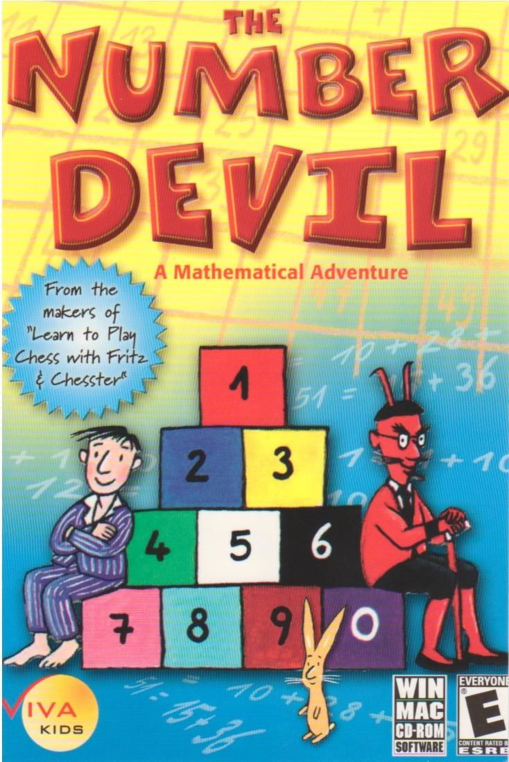 The Number Devil: A Mathematical Adventure Macintosh Front Cover