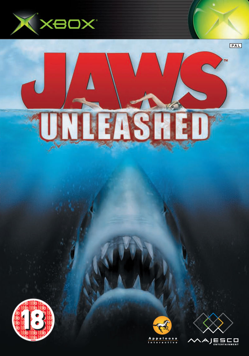 Jaws: Unleashed Xbox Front Cover