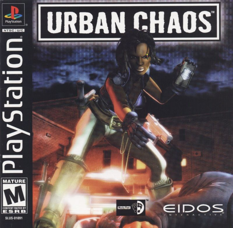 Urban Chaos PlayStation Front Cover