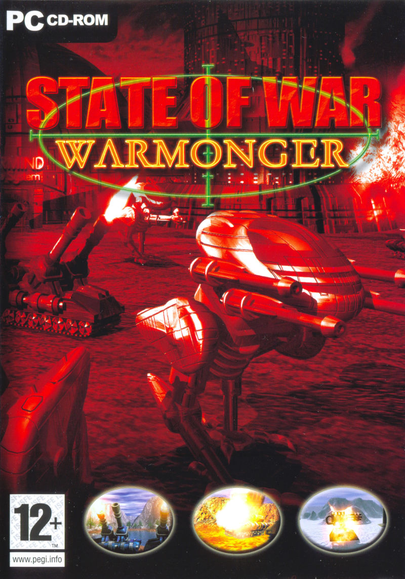 State of War: Warmonger Windows Front Cover