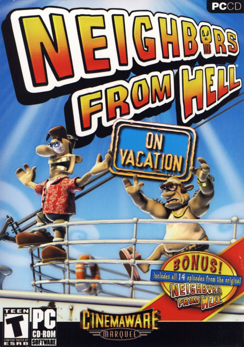 Neighbors from Hell: On Vacation Windows Front Cover