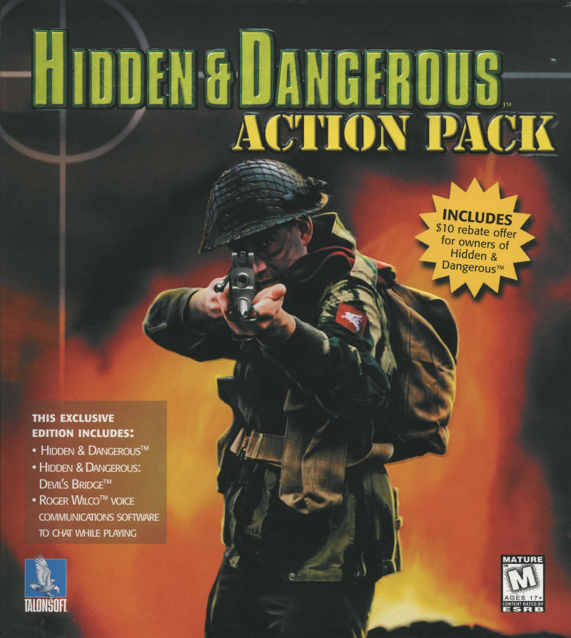 Hidden & Dangerous Action Pack Windows Front Cover