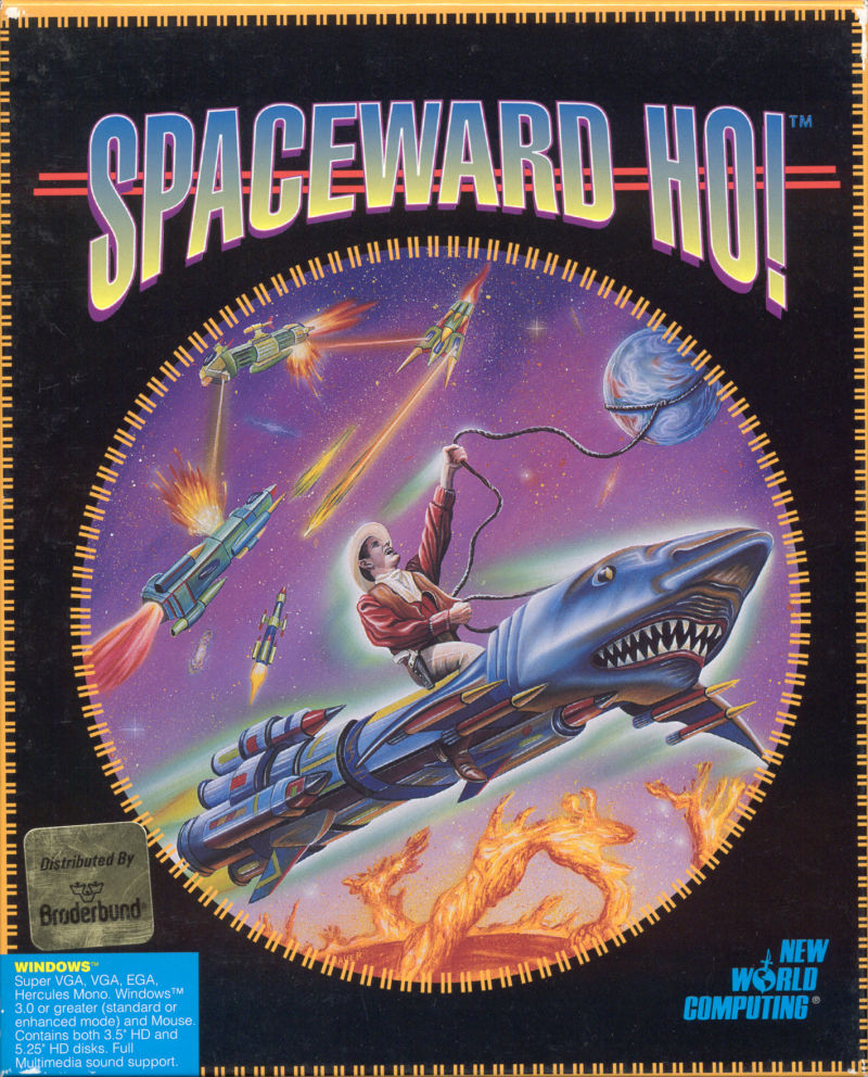 Spaceward Ho! Windows 3.x Front Cover