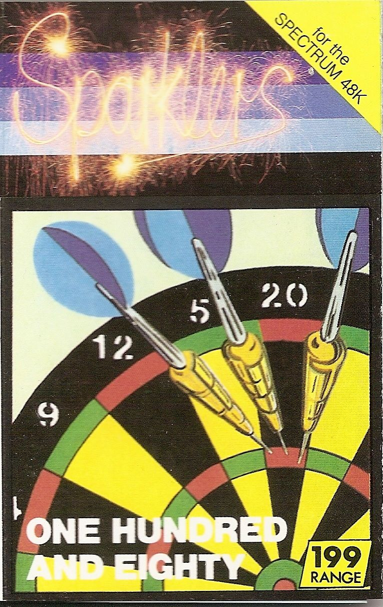 One Hundred and Eighty! ZX Spectrum Front Cover