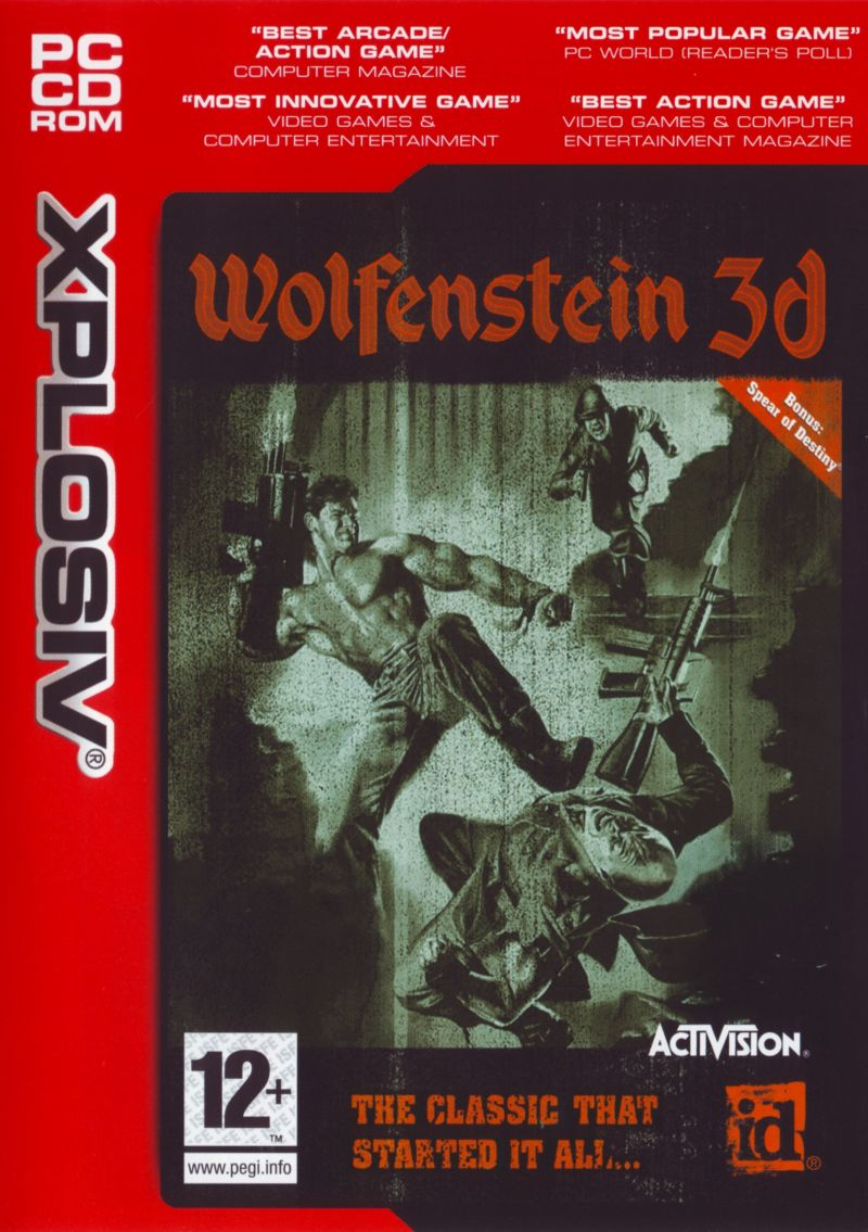 Wolfenstein 3D Windows Front Cover