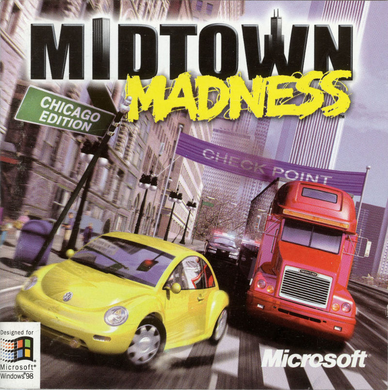 Midtown Madness Windows Other Jewel Case - Front