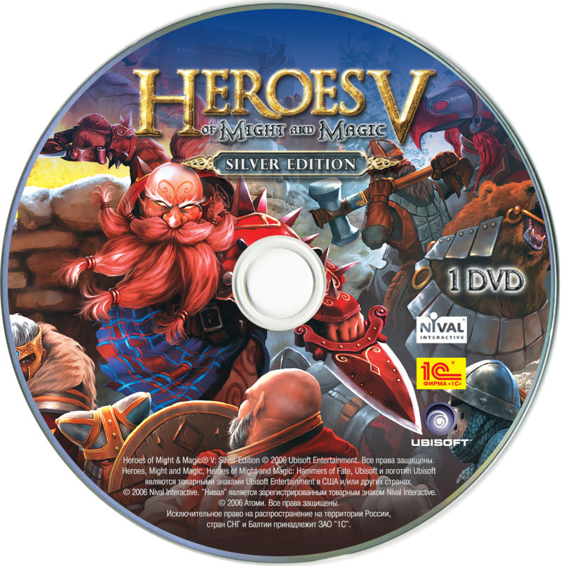 Heroes of Might and Magic V (Silver Edition) Windows Media