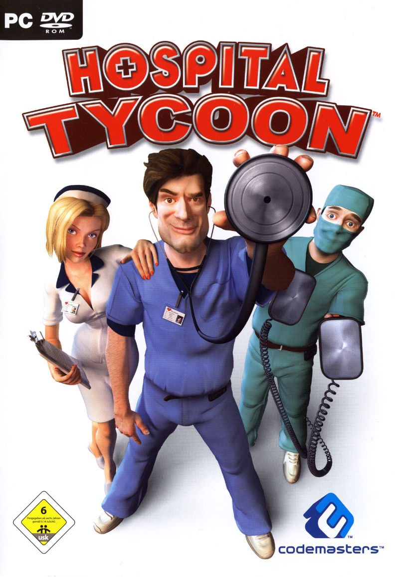 Hospital Tycoon Windows Front Cover