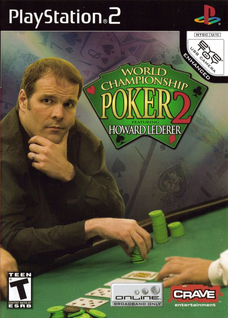 World Championship Poker 2 featuring Howard Lederer PlayStation 2 Front Cover