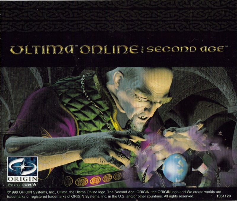 Ultima Online: The Second Age Windows Other Jewel Case - Back