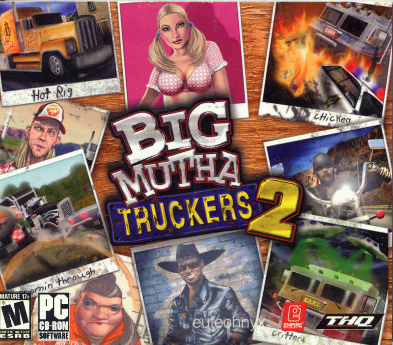 Big Mutha Truckers 2 Windows Front Cover