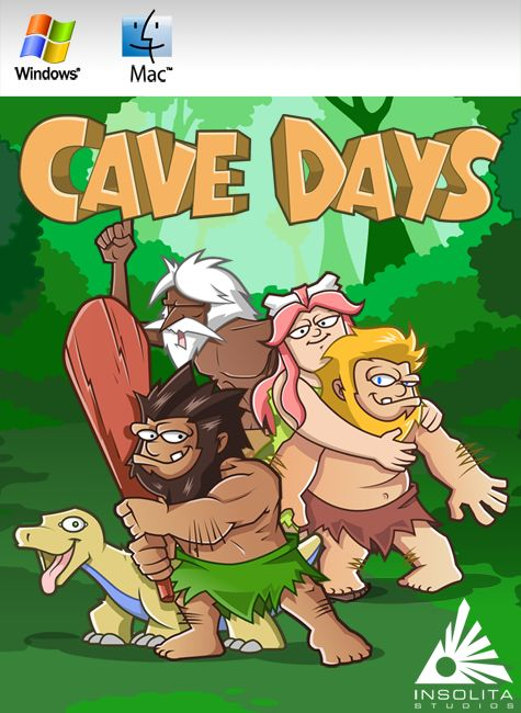 CaveDays Macintosh Front Cover