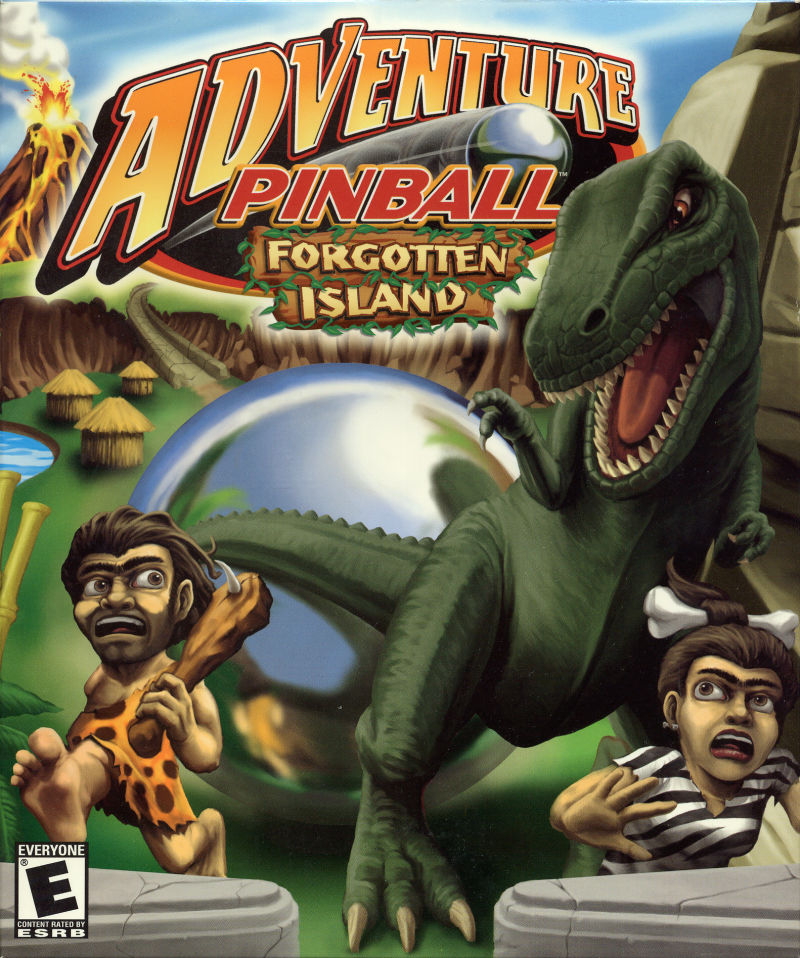 Adventure Pinball: Forgotten Island Windows Front Cover