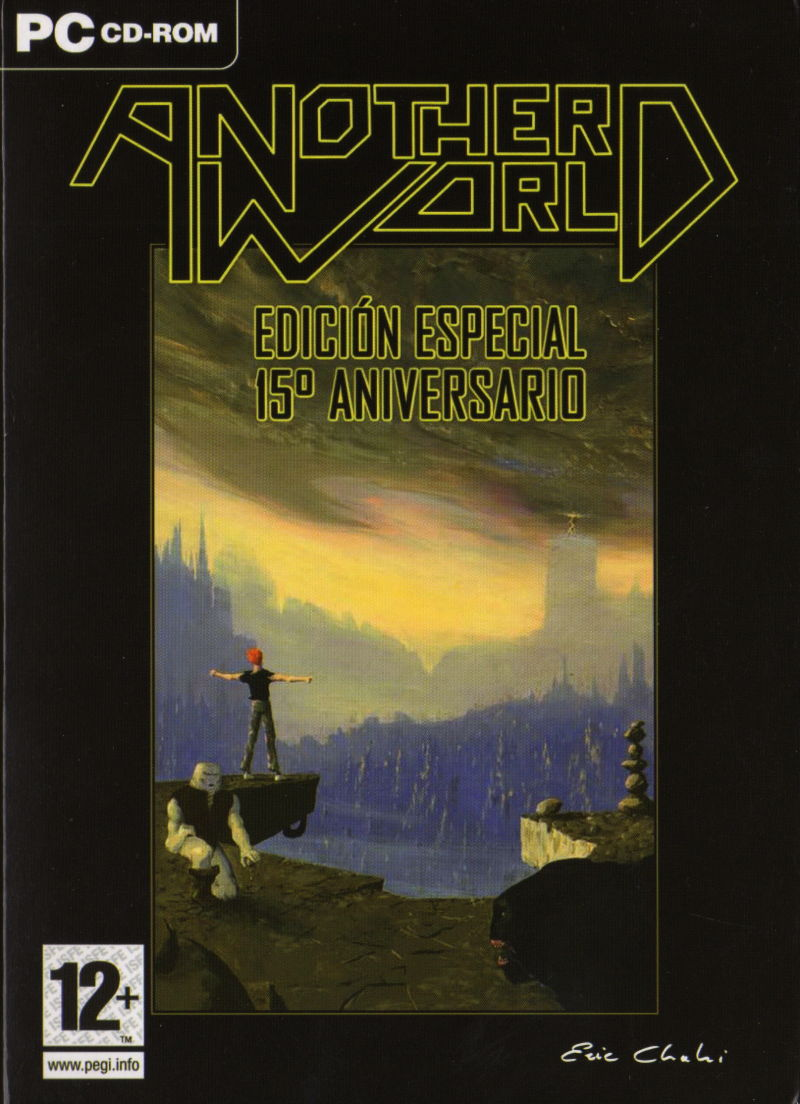Another World: 15th Anniversary Edition Windows Front Cover