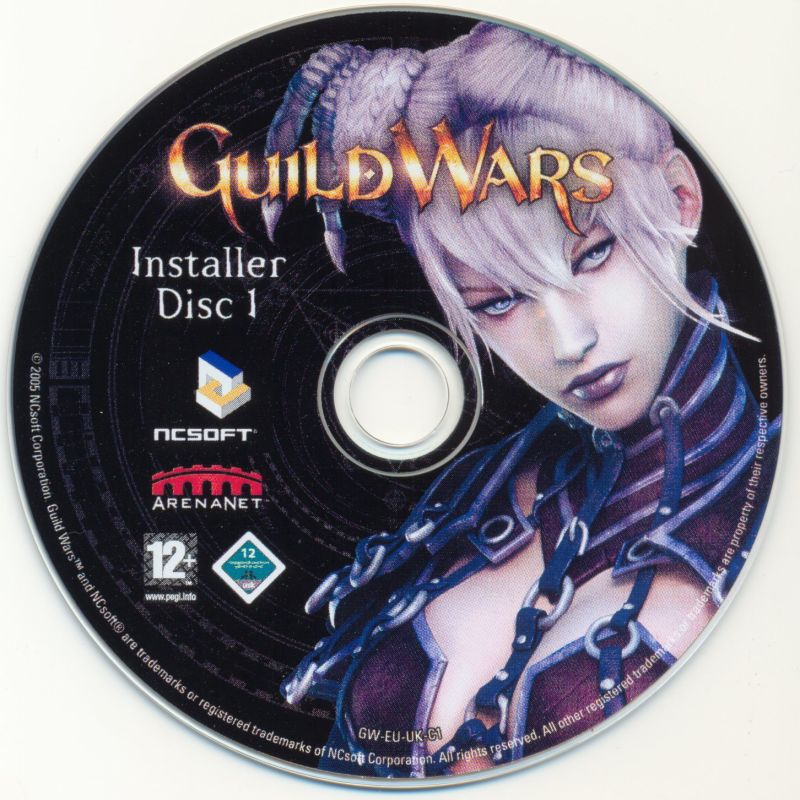 Guild Wars Windows Media Disc 1