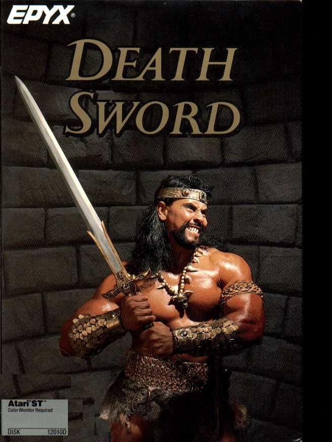 Death Sword Atari ST Front Cover