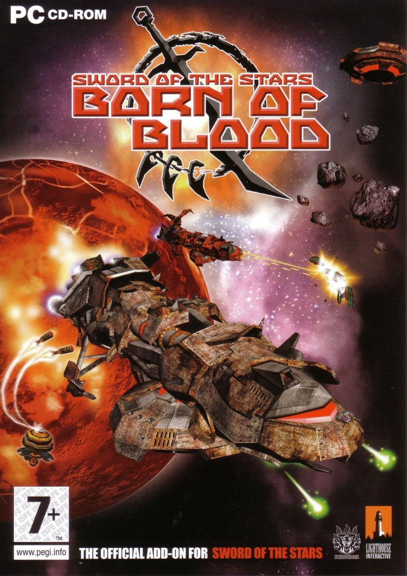 Sword of the Stars: Born of Blood Windows Front Cover