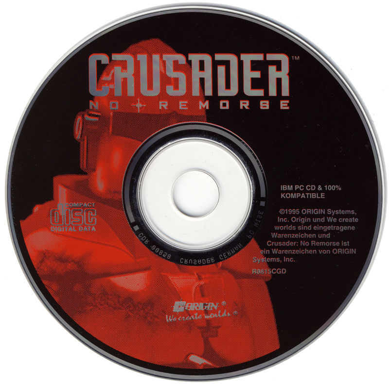 Crusader: No Remorse DOS Media
