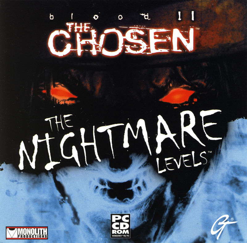 Blood II: The Chosen - The Nightmare Levels Windows Other Jewel Case - Front