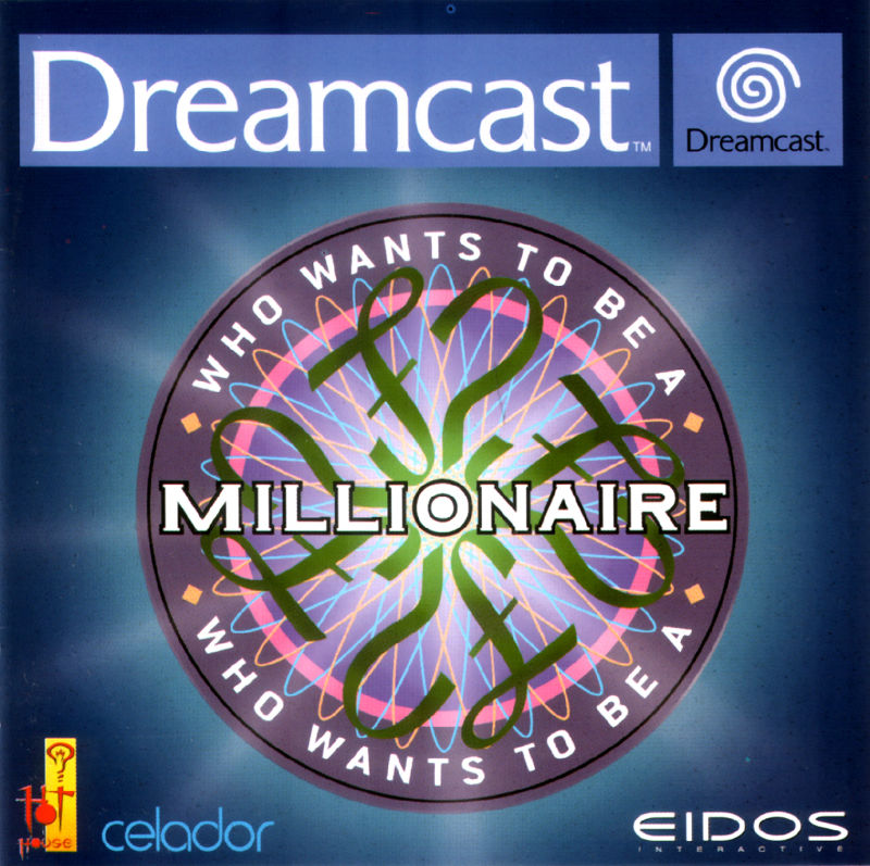 Who Wants to Be a Millionaire Dreamcast Front Cover