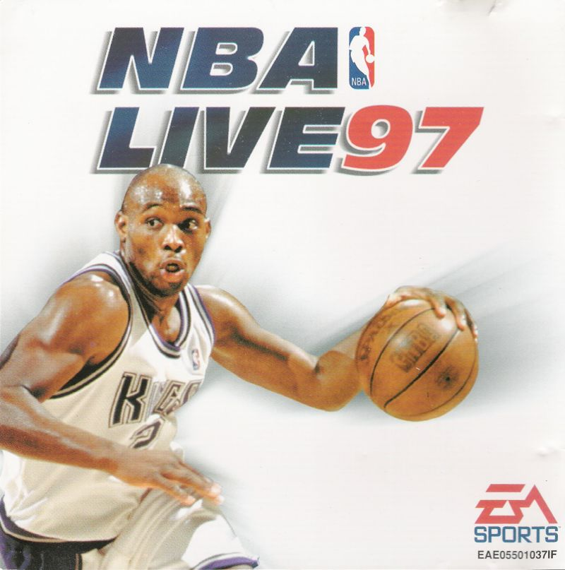 NBA Live 97 DOS Other Jewel Case - Front