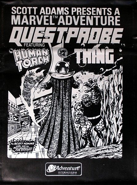 Questprobe: Featuring Human Torch and the Thing DOS Front Cover