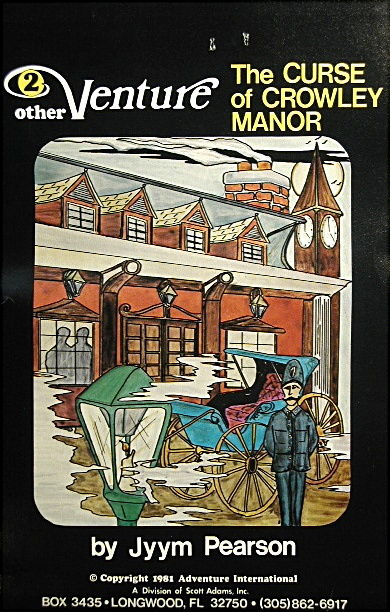 The Curse of Crowley Manor TRS-80 Front Cover