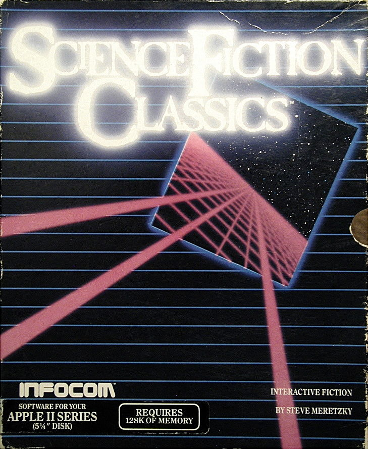 Science Fiction Classics Apple II Front Cover